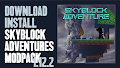 HOW TO INSTALL<br>Skyblock Adventures Modpack [<b>1.12.2</b>]<br>▽