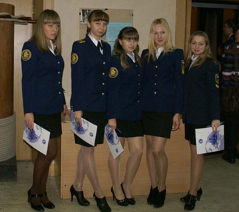 Russian women in uniform