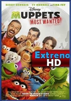 El tour de los Muppets 2014 | DVDRip Latino HD Mega
