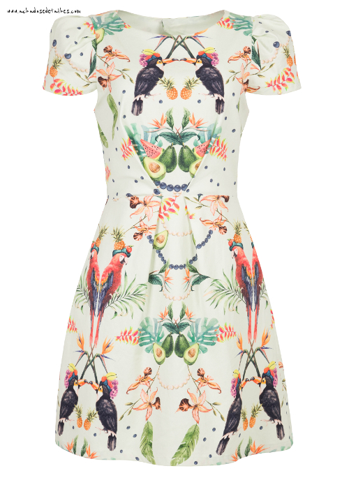 Antix vestido tropicana