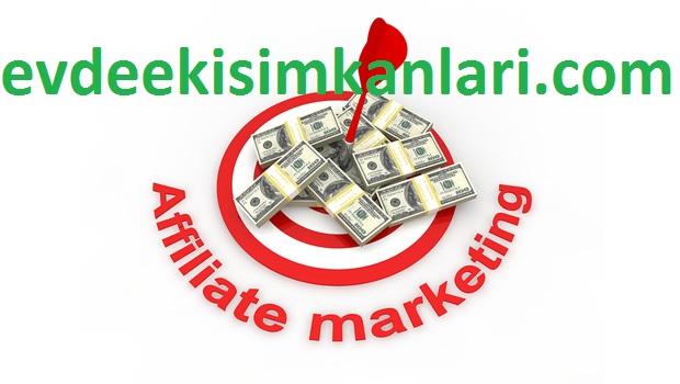 Affiliate Marketing (Satış Ortaklığı) ile Para Kazanmak