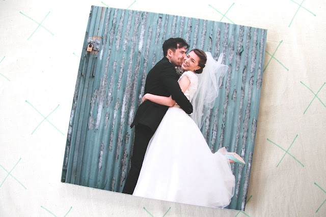 blurb wedding album