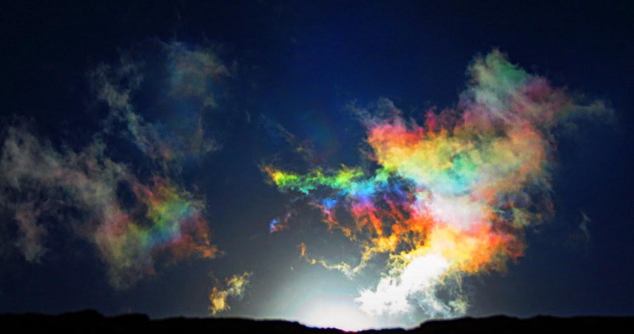 fenomena alam aneh pelangi api