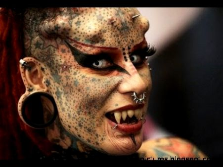 Body Tattoos And Piercings  Body Art Pictures