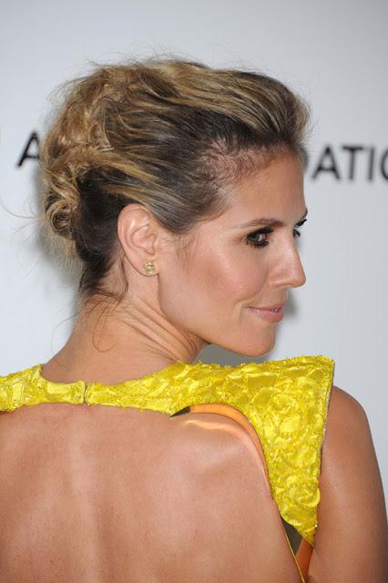 Cabelo Heidi Klum Oscar 2012