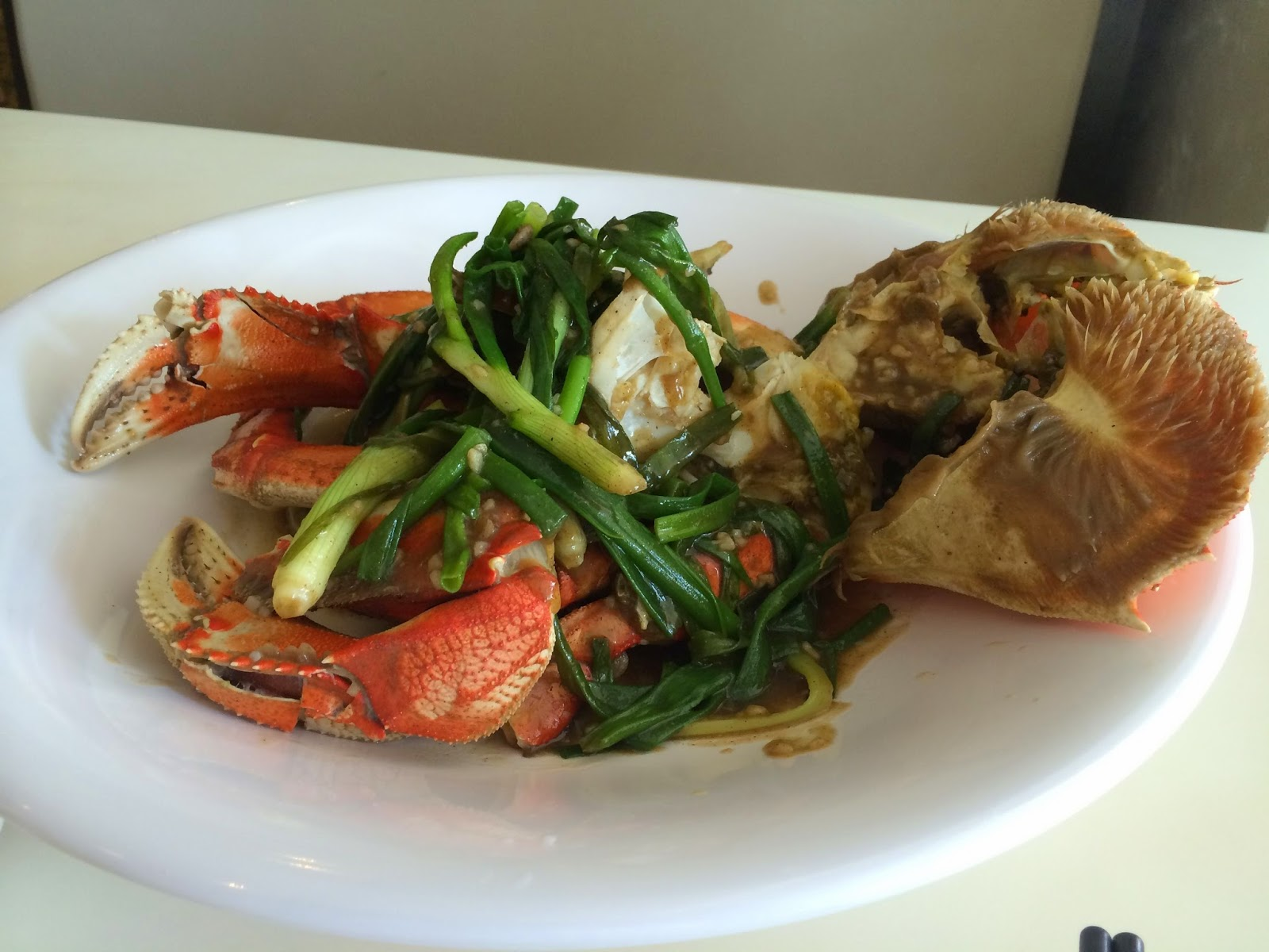 White Pepper Crab at No Signboard Singapore
