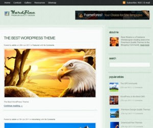 YardZine WordPress Theme