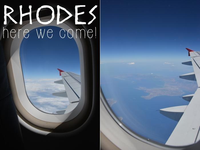 Flug Wien Rhodos