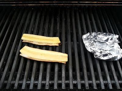 Grillet banan