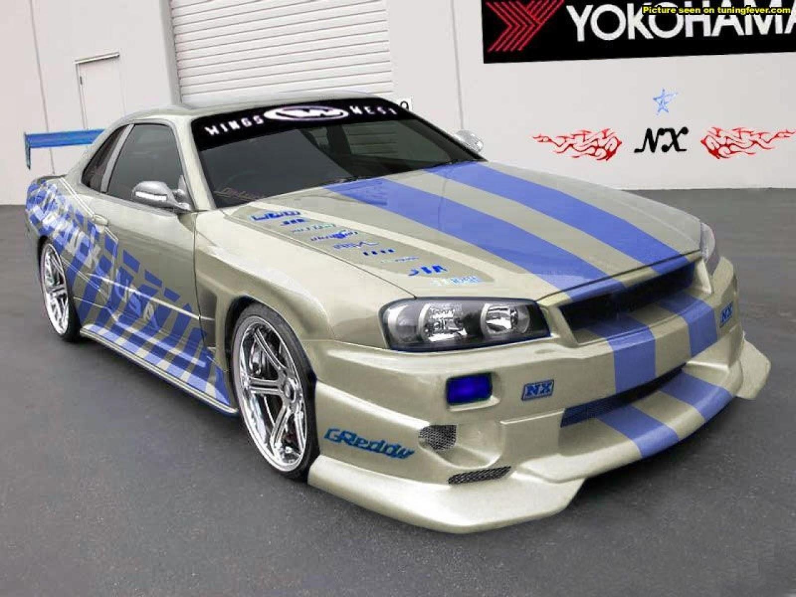 Fast 2 Furious Nissan Skyline Gtr | Car Interior Design