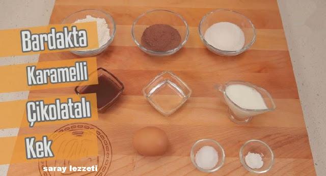 bardakta-karamelli-cikolatali-kek-malzemeler