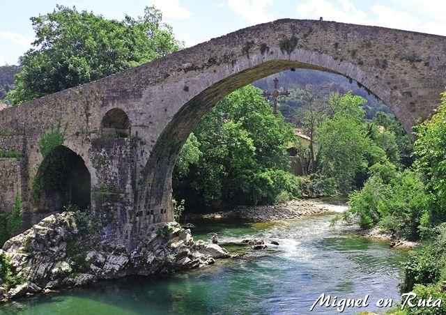 Cangas-de-Onís-Puente-Romano