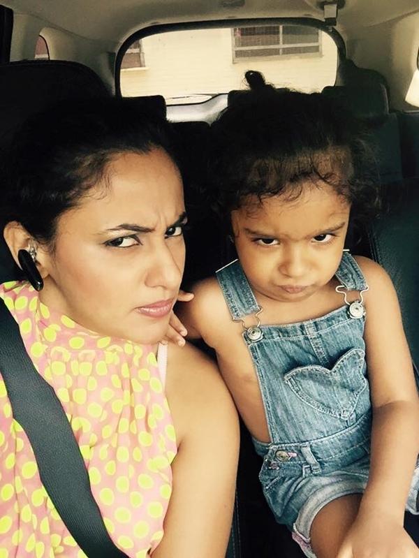 Udari & Little Daughter's New Selfie's | Sri Lankan Actress And Models ...