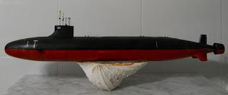 maqueta marca trumpeter submarino USS SSN-21 Seawolf