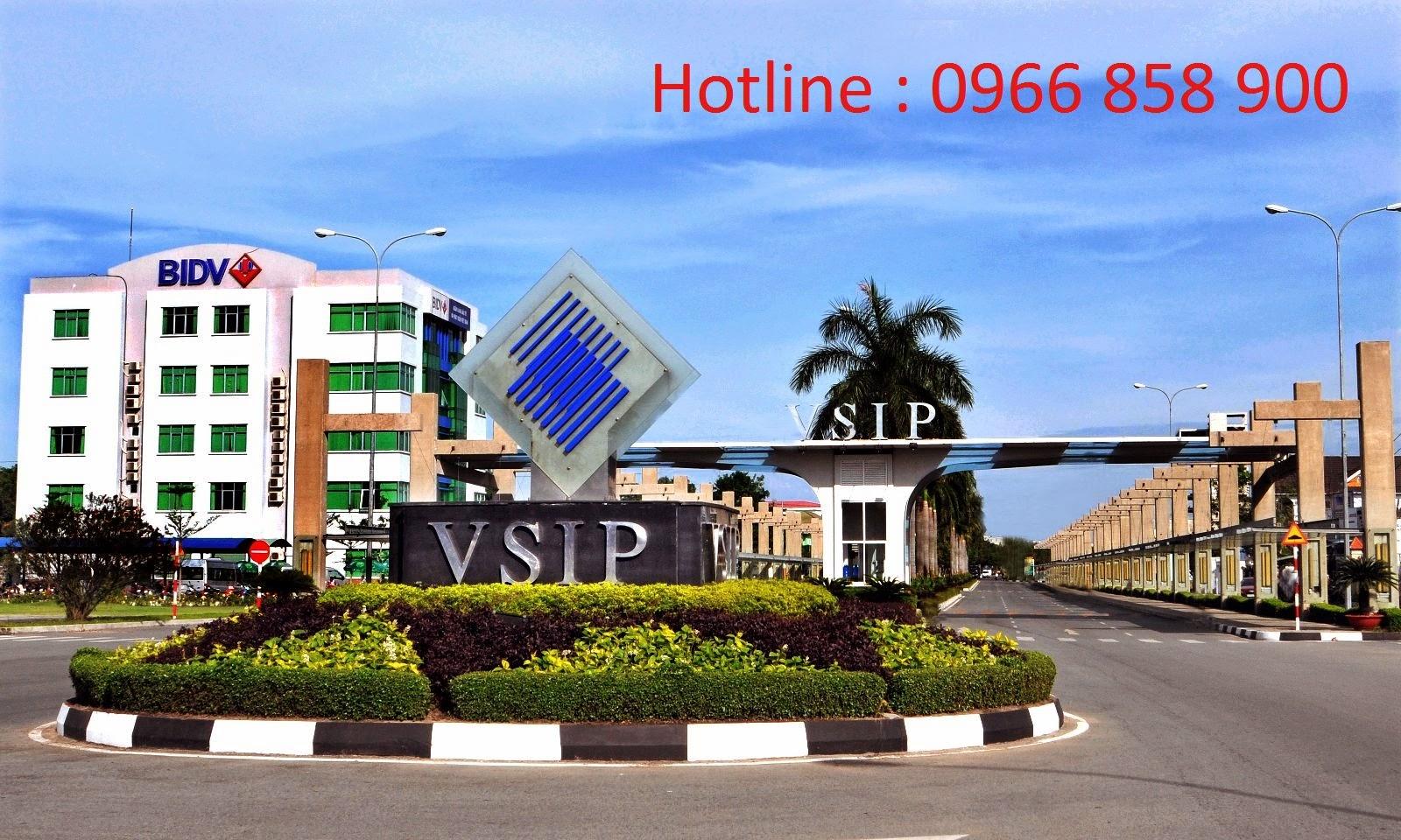 Đất nền Việt Sing, VSIP 1 Bình Dương ảnh 1