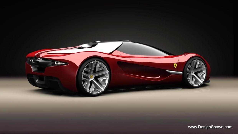 Ferrari F80 Full HD Wallpaper