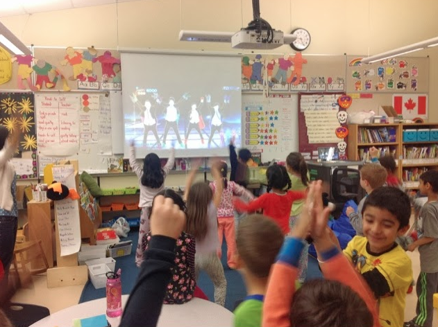 kinderchat just dance