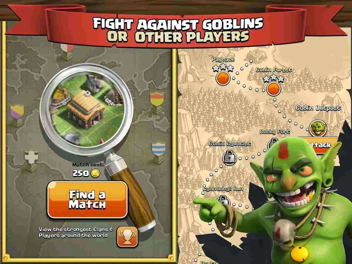Clash Clans for Android Phones ReviewSystem Requirements Apk
