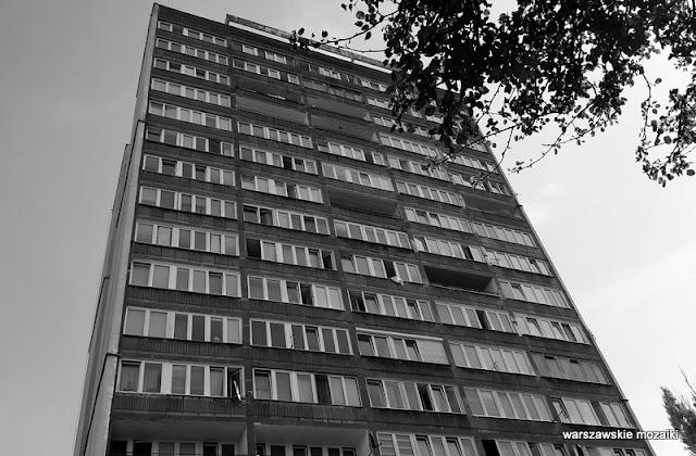 Żoliborz Warszawa warsaw bloki blokowisko b&w cz-b
