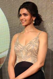 Deepika Padukone  at Chennai Express Audio 002.jpg