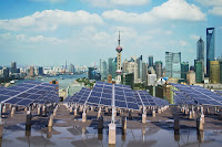 Rooftop solar panels (Credit: crystal51/Shutterstock) Click to Enlarge.