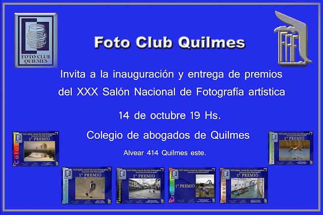 Federacion Argentina de Fotografia - XXX Salon Foto Club Quilmes - - MUESTRA FOTOGRAFICA -  - MEDAL