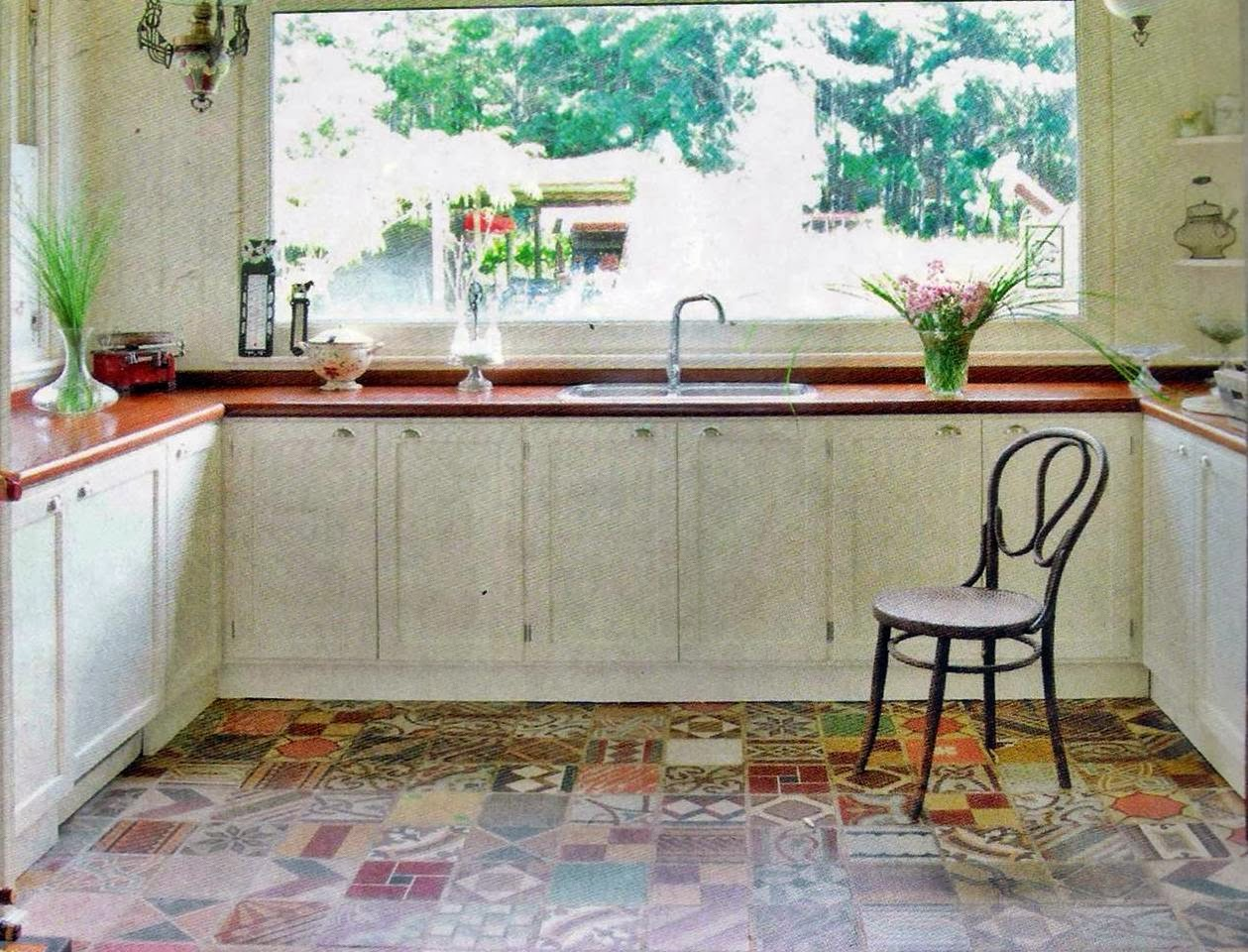 Quadrat patchwork divinos - Cocinas con mosaico ...