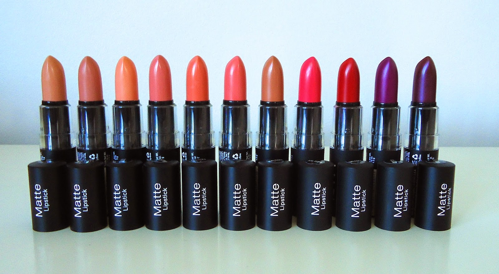 Beautywithemilyfox: NYX Matte Lipsticks - New Shades 2014