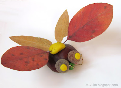 ������� ������� ��������� autumn nature craft insect