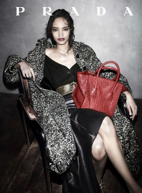 Prada Fall 2013 Campaign by Steven Meisel