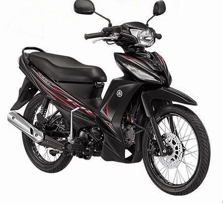 Yamaha New Vega RR warna hitam