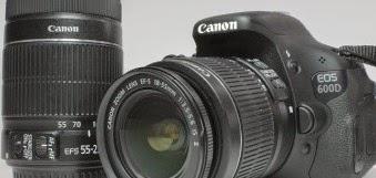 Canon EOS 600D + Double Kit