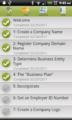 Start Up Checklist apk