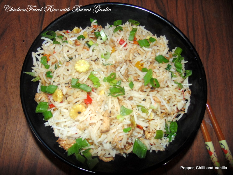 Garlic Chicken Fried Brown Rice Recipes — Dishmaps