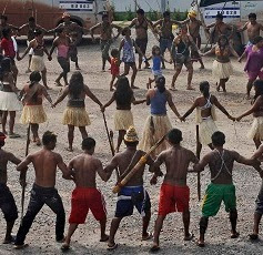 Occupation of Belo Monte, Day 3 May 5 2013.