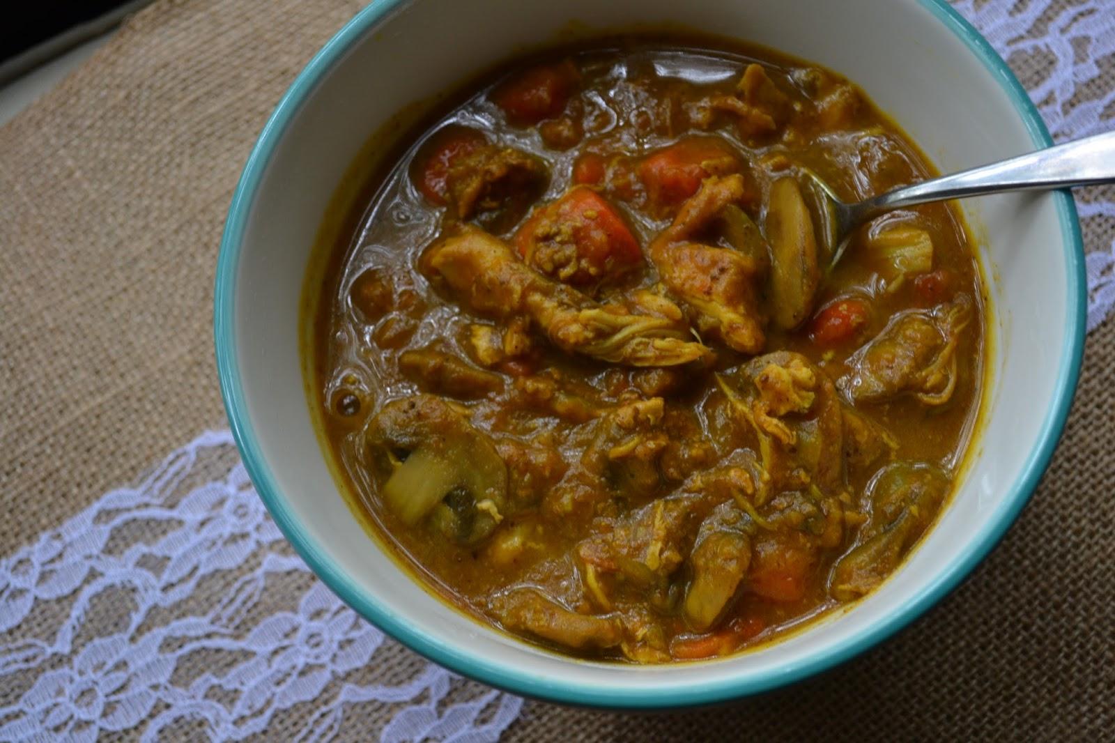 Making Miracles: #PumpkinWeek ~ Chicken Mushroom and Pumpkin Stew