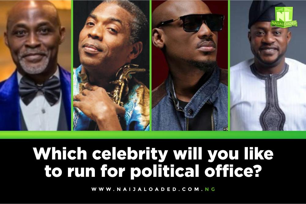 Celebrity newsmakers 2019 election