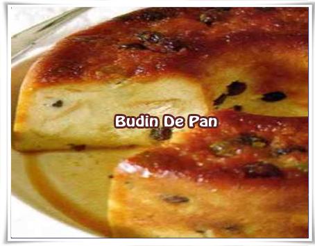 Recetas de postres y helados, budìn, pan