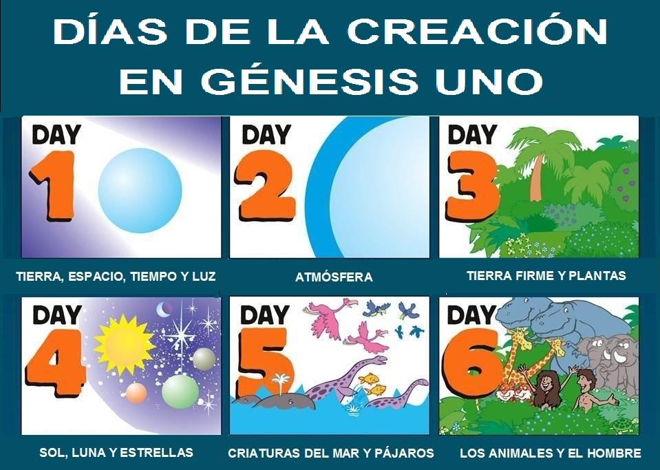La creacion del mundo blog informativo for En 7 dias dios creo el mundo