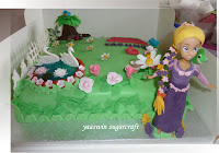 Tangled Garden Chocolate Cake