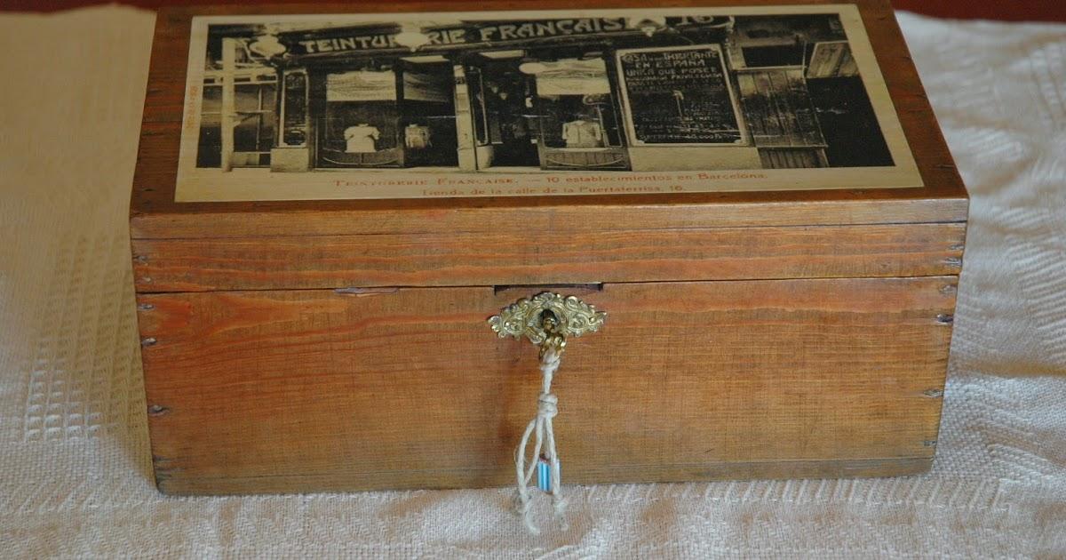 Mi las mobles caixes reciclades amb fotos antigues de barcelona caixes r stiques caixes - Mobles vintage barcelona ...