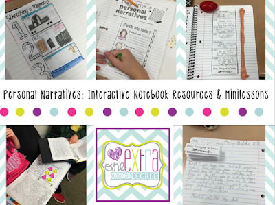 https://www.teacherspayteachers.com/Product/Personal-Narratives-Interactive-Notebook-Resources-and-Minilessons-1904744