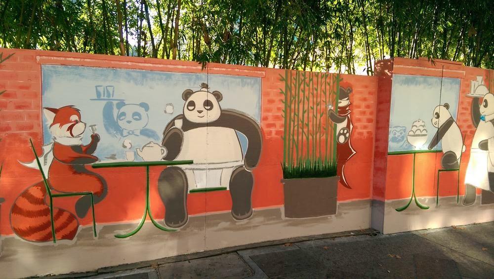 The san jose blog new panda mural in downtown san jose for 6 blocks from downtown mural