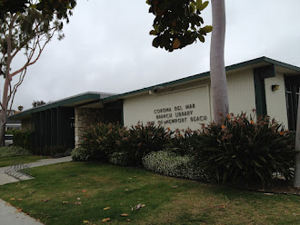 Corona Mar Branch Library in Cali