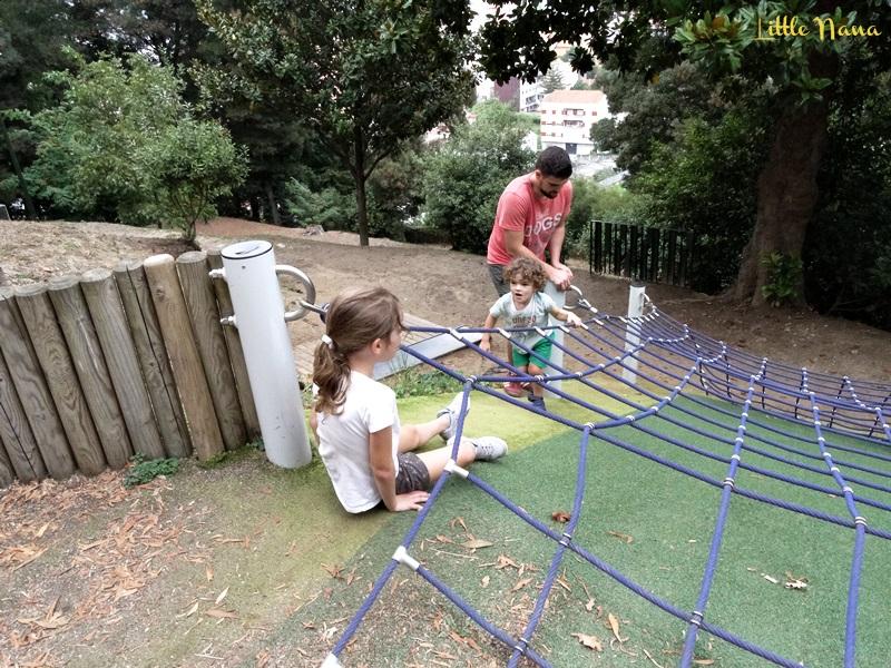 ocio infantil parque sentidos marin pontevedra