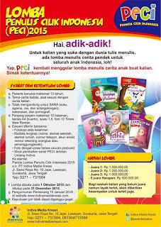 Info-kuis-lagi-Kontes-Penulis-Cilik Indonesia-(PECI)-2015
