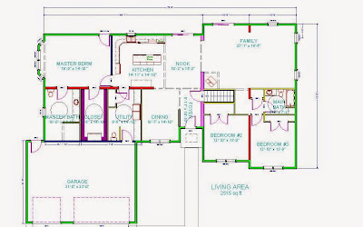3-Bedroom Wheelchair Accessible House Plans - Universal Design for ...