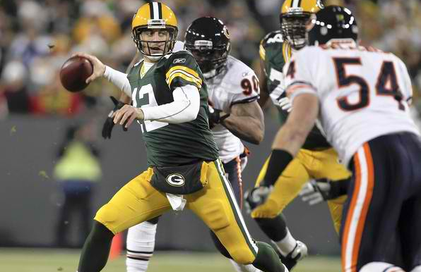 directv nfl sunday ticket bears packers over under