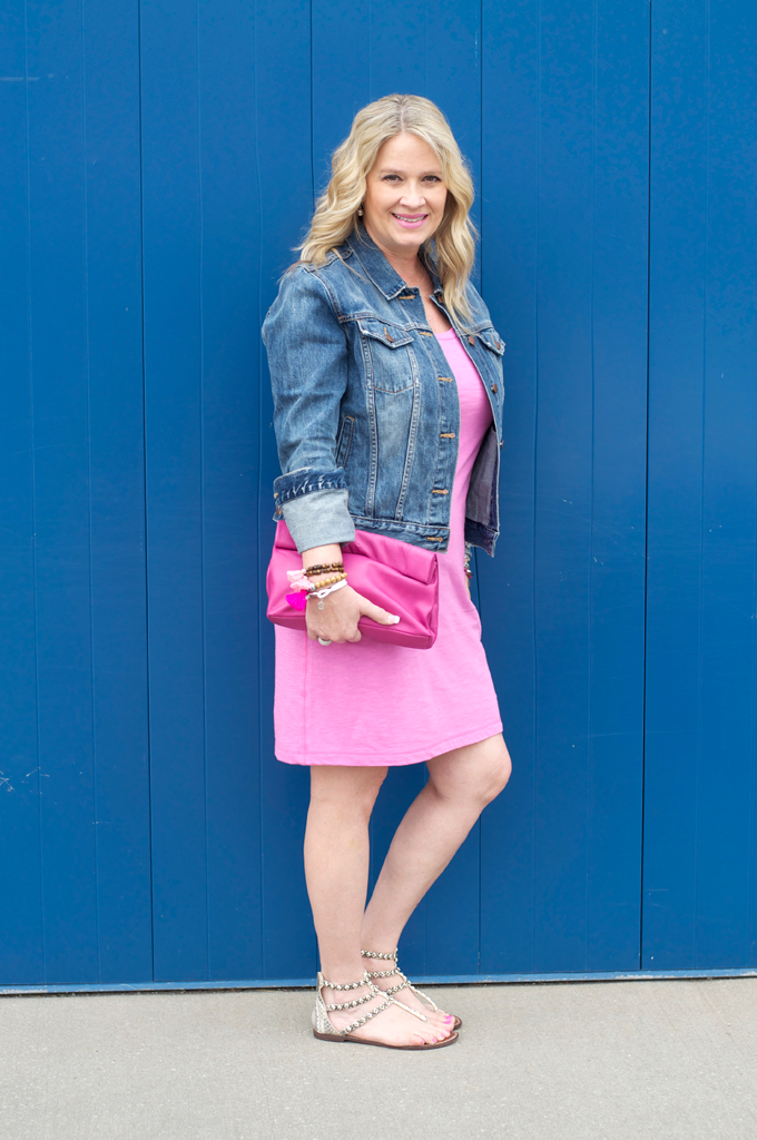 gap-tee-pink-dress