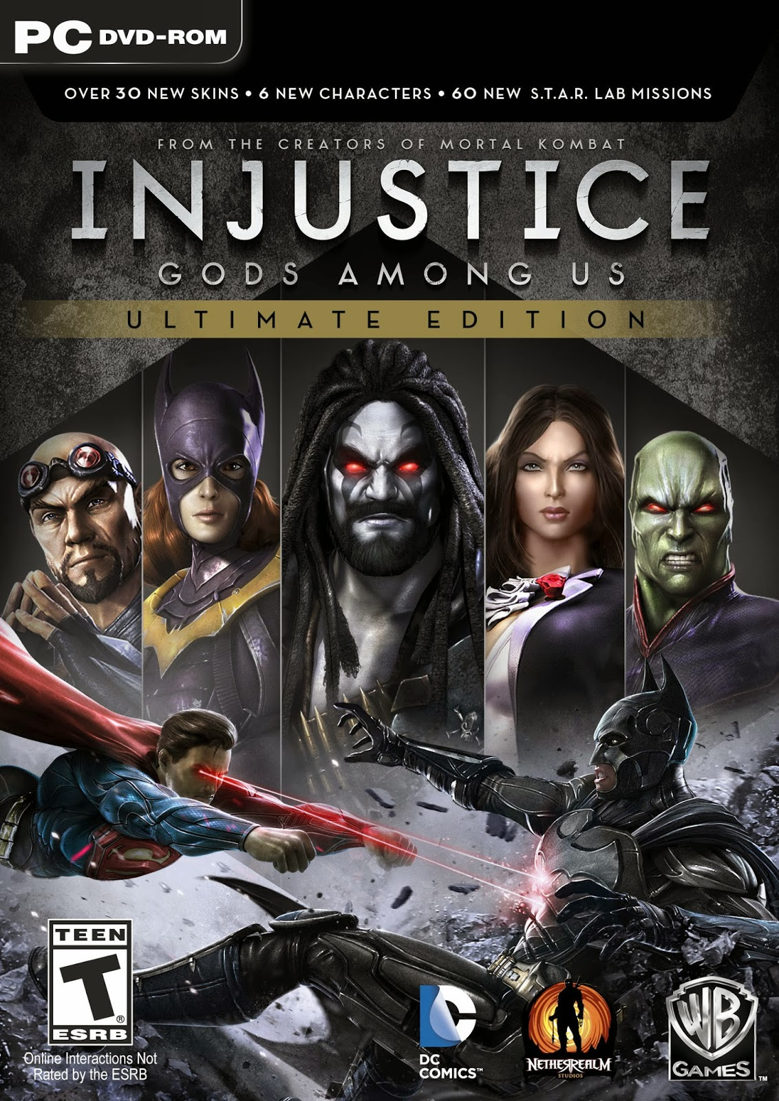 Injustice Gods Among Us Ultimate Edition Black Box